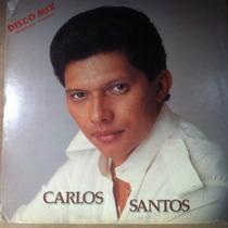 Lp Vinil Carlos Santos