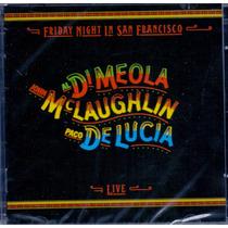 Cd Al Di Meola/john Mclaughlin/ Paco - Friday Night ...