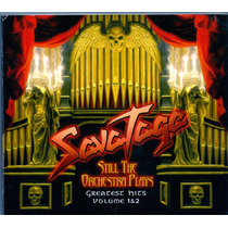 Cd Savatage - Sitll The Orchestra Plays Vol. 1 E 2 - Novo**