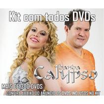 Kit Coleção C/ Todos Dvds Banda Calypso + De 300 Unidades
