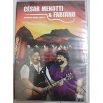 Dvd César Menotti E Fabiano Ao Vivo No Morro Da Urca