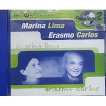 Cd O Melhor De 2 Marina Lima E Erasmo Carlos Original