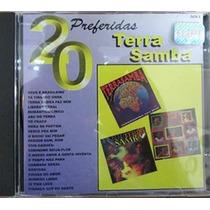 Cd De Musica 20 Preferidas Terra Samba Original Usado