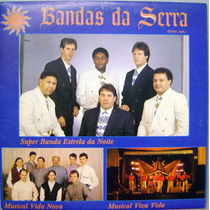 Vinil / Lp - Bandas Da Serra - Série Azul