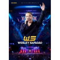 Wesley Safadão - Ao Vivo Em Brasília - Kit (cd+dvd) -