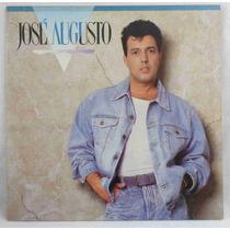 José Augusto Lp Nacional Usado José Augusto 1990 Encarte