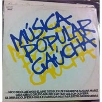 Lp Vinil Música Gaúcha Raro Tipo Fronteira Teixerinha