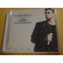George Michael Queen Lisa Stansfield Five Live Cd Importado