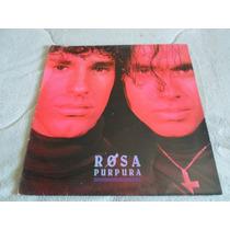 Lp Rosa Púrpura / Ano 1988 / Com Encarte