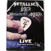Dvd: Metallica, Slayer, Megadeth & Anthrax -live From Sofia
