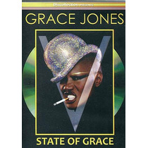 Dvd Grace Jones Raro Lacrado! = State Of Grace Raridade Wow!