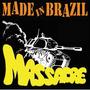 Lp Made In Brazil - Massacre (vinil Colorido Laranja Splashe