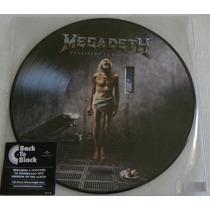 Megadeth Countdown To Extinction Picture Disc Iron Maiden
