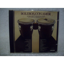 Cd Boleros Con Amor- 42 Boleros Inesquecíveis Som Livre 1988