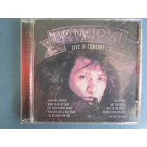 Cd De Musica Bon Jovi Live In Concert Usado