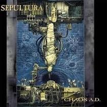 Sepultura Chaos Ad + 3 Bonus Tracks (cd Novo E Lacrado)