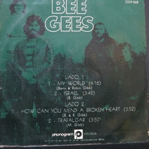 Bee Gees - My World - Israel - How Can Compacto Vinil Raro