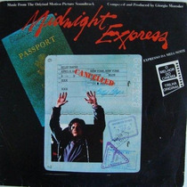Giorgio Moroder Lp Midnight Express Trilha De Filme