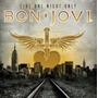 Rock Pop Cd Bon Jovi Live One Night Only Lacrado Fabrica