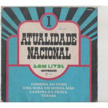 Compacto Vinil Atualidade Nacional 1 - 1974 - Som Livre