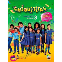 Dvd Chiquititas Video Hits Volume 3 Com Porta Retrato