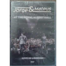 Dvd Jorge & Mateus - At The Royal Albert Hall Live In London