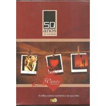 Box 50 Anos De Sucessos Da Musica Romantica- 5 Dvds*lacrado