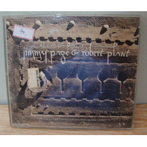 Cd Single Jimmy Page & Robert Plant - Gallows Pole Imp. Uk