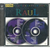 Cd-raul Seixas-séries Grandes Nomes-vol 2-disco 3 E 4-raro