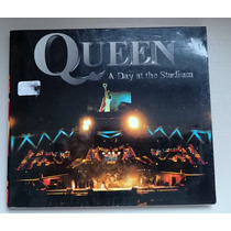 Raro Cd Queen A Day At The Stadium - Live At Wembley 1985