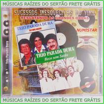 Cd Sertanejo Trio Parada Dura Ultimo Adeus Beco Sem Saída