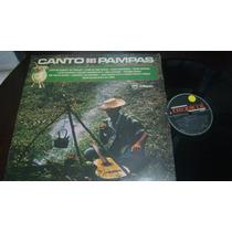 Lp Canto Dos Pampas. 1985.