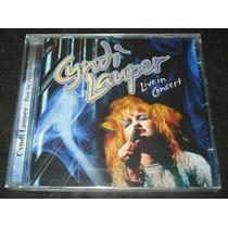 Cyndi Lauper - Cd - Live In Concert 1987