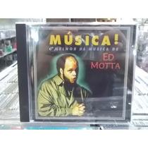 Ed Motta Musica O Melhor De Ed Motta Cd Original Est Imp