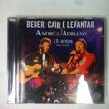 Cd André E Adriano 15 Anos Ao Vivo -
