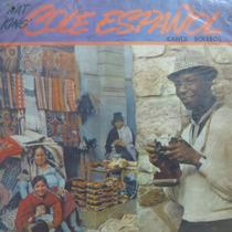Lp - Nat King Cole - Español - Canta Boleros Vinil Raro