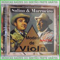 Cd Sertanejo Sulino E Marrueiro Especial Música Corumbá