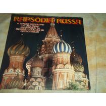 Lp Vinil Rapsódia Russa - Luis Cobos - 1987
