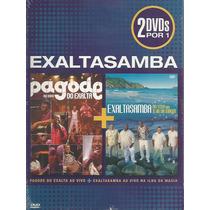 Dvd- Exaltasamba - Pagode Do Exalta E Ilha Da Magia- Lacrado