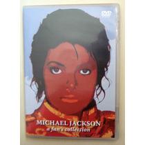 Michael Jackson A Fans Collection Box 4 Dvds E Pôster Duplo