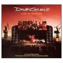 David Gilmour Live In Gdansk Cd Original ( Eua) Duplo