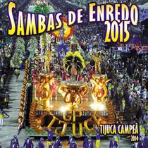 Cd Carnaval Do Rio De Janeiro 2015 Sambas De Enredo