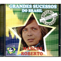 Cd - Marcos Roberto - Grandes Sucessos Do Brasil - Lacrado