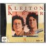 Cd Kleiton E Kledir - Minha História - 14 Sucessos