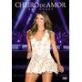 Cheiro De Amor - Dvd - Nas Águas Ao Vivo - Novo Lacrado