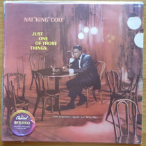 Nat King Cole Lp Nacional Usado Just One Of Those Things