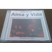 Cd - Alma Y Vida - Juntos Otra Vez - Live 1989 - Argentino