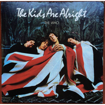 Lp The Who - The Kids Are Alright Import Duplo+encarte-livro