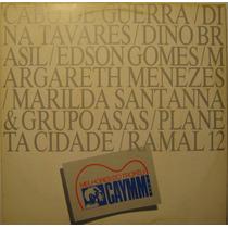 Melhores Do Trofeu Caymmi Lp Ano 3 Edson Gomes 1989 + Encart