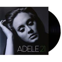 Lp Vinil Adele 21 Importado Novo Lacrado